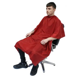 Hair Tools Red Barber Gown