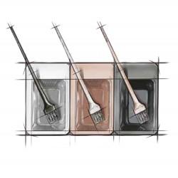 Hair Tools Tri-Colour Tint Set