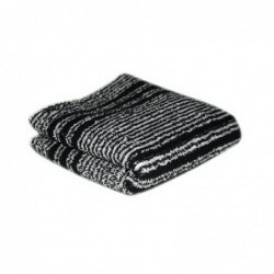 Black/White Humbug Towels