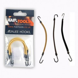 Hair Tools Bunjee Hooks Black