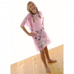Children's Doggy Gown Pink