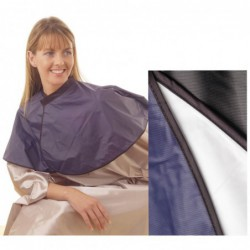 PVC Shoulder Cape White