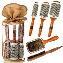 Head Jog Wood Ceramic Brush...