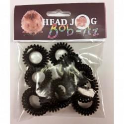 Head Jog Bob-Itz 10pk Brown