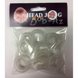 Head Jog Bob-Itz 10pk Clear