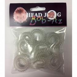 Head Jog Bob-Itz 10pk Clear