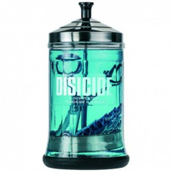 Disicide Medium Glass Jar